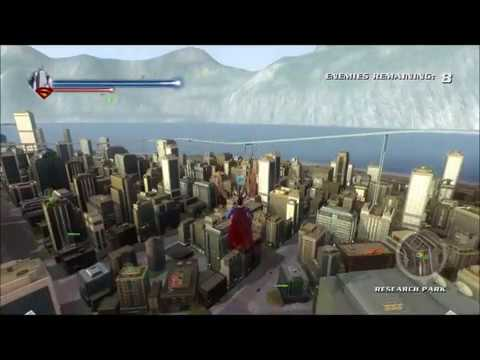 Superman Returns Gameplay