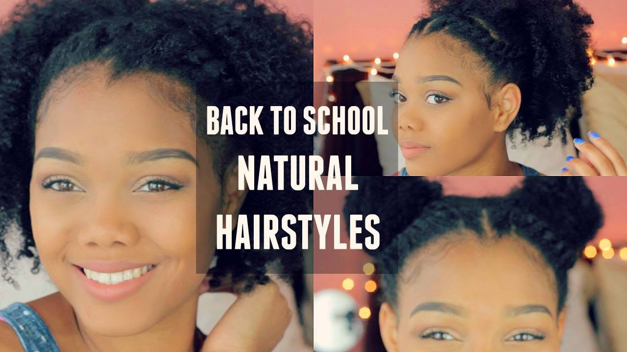 how to style naturally curly hair for school back to school hairstyles collab 3109