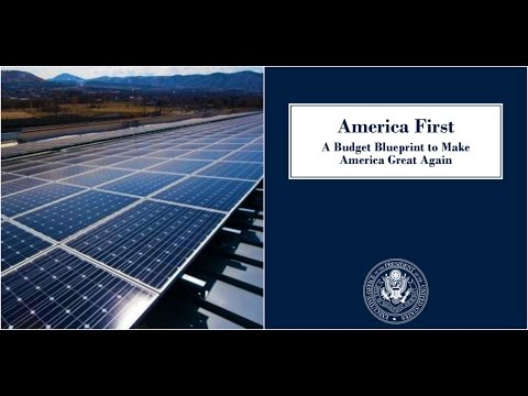 President Donald Trump Budget Blue print for Department of Energy Explained