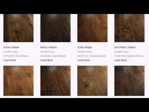 Bella Cera Hand Scraped Hardwood Floors - Bella Cera Hand Scraped Hardwood Floors - YouTube