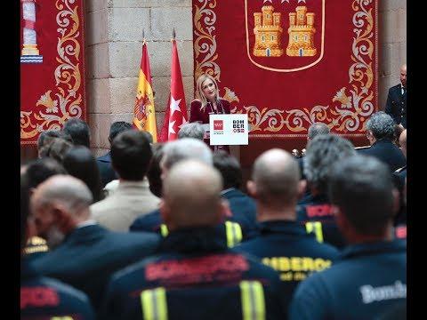 50 aniversario de los Bomberos de la Comunidad de Madrid