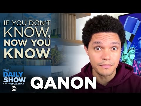 Qanon If You Don T Know Now You Know The Daily Social Distancing Show Youtube