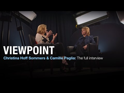 Christina Hoff Sommers and Camille Paglia: The full intervie