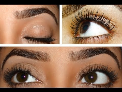 aa41222e2ea How to make your eyelash and eyebrow grow fast in 1 / 2 weeks - YouTube