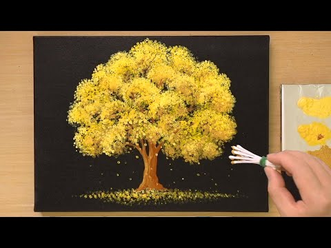 Easy Acrylic Painting Technique for Beginners