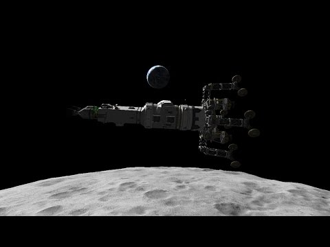 Reusable KSP 23 -  Mun Cargo Lander