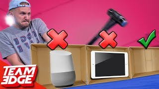 destroying iphone x