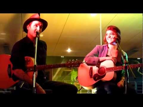 My Attraction - Amber Lawrence With Luke O'Shea - Songwriters In The Round - Club Menai 14-11-2012