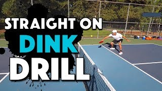 Pickleball Dink Drill | Straight On Dinks