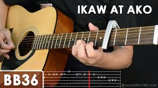Ikaw At Ako - TJ Monterde Guitar Tutorial (intro lead/chords/strumming/etc)