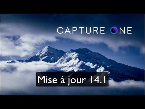 Mise à jour Capture One Pro 21 version 14.1