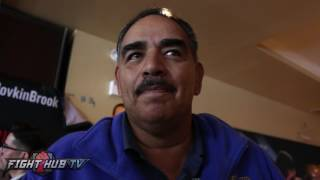 Abel Sanchez on Crawford Garcia