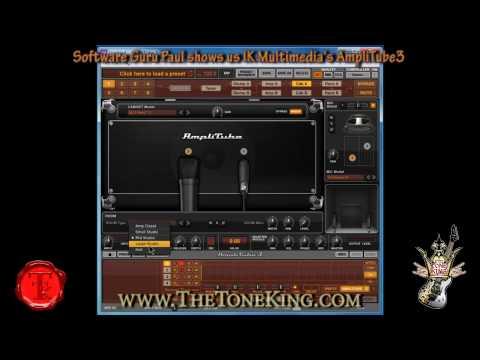 AmpliTube 3 by IK Multimedia shown by TTK Software Guru Paul
