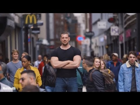 When a 7'2 ft Bodybuilder Hang Out With Normal People !