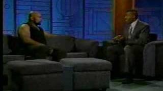 Bad News Brown on talk show
