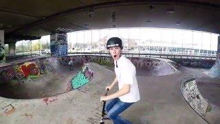 April 2016 | Skatepark A8 | Scooter edit | #MT-media