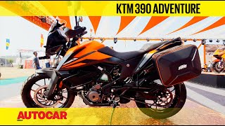 KTM 390 Adventure India Walkaround : #IBW2019 | First Look | Autocar India