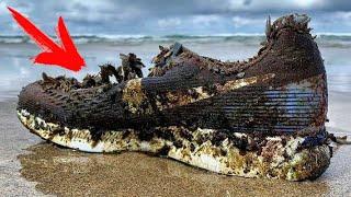 Каждый день уборщик пляжа находит новые КРОССОВКИ... Лишь спустя ГОД он разгадал эту ЗАГАДКУ...