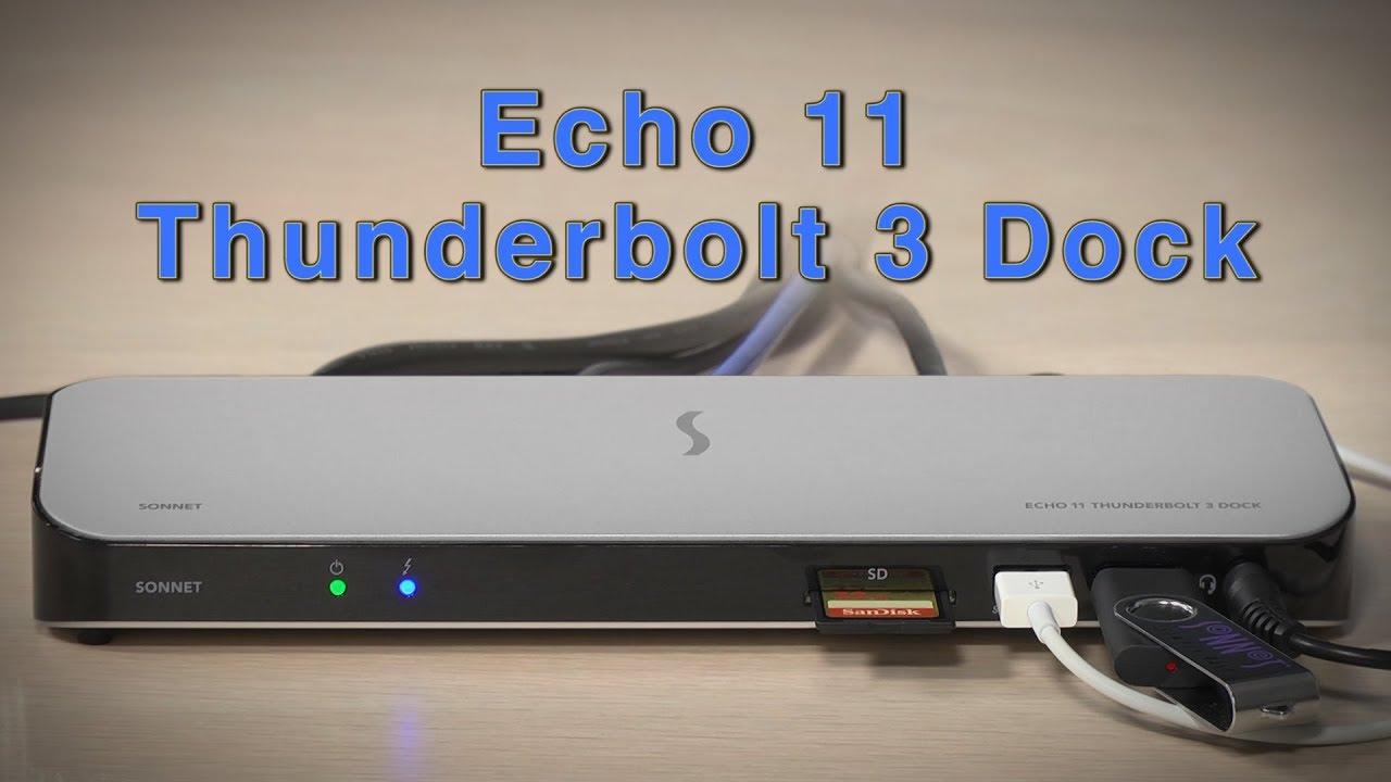 Echo 11 Thunderbolt 3 Dock | Sonnet