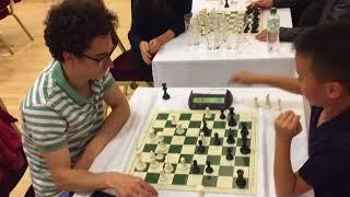 US #1/World #5 GM Fabiano Caruana vs 10-year old FM Christopher Yoo in 2-minute blitz