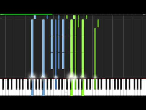 All Alone With You - Psycho-Pass (Ending 2) [Piano Tutorial] (Synthesia) // TehIshter