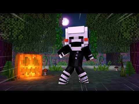 Puppet Gets Lost In The Woods - (Minecraft FNAF Roleplay)