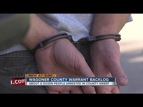 Wagoner County Warrant Sweep Underway