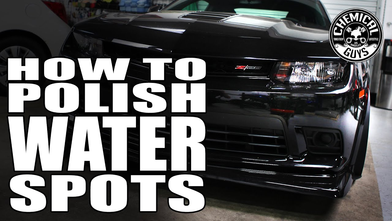 Remove Hard Water From Car Paint