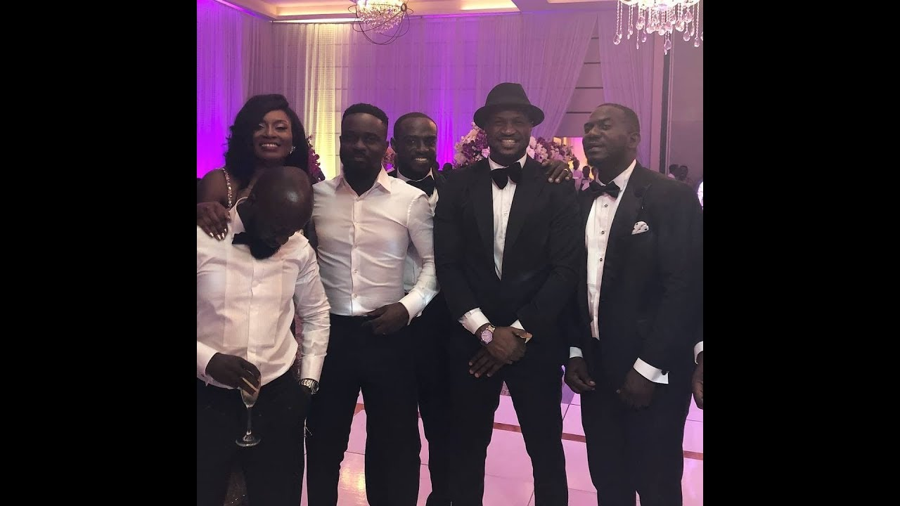 Download VIDEO: Sarkodie's Star Studded White Wedding