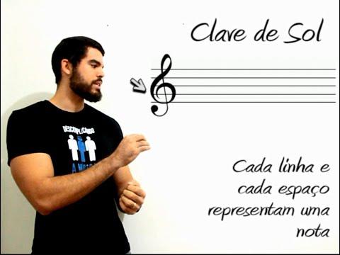 Como ler Partitura: Claves de Sol, Fá, Dó e Pauta Musical