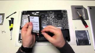 MacBook Pro SSD Upgrade (OCZ Vertex 3)