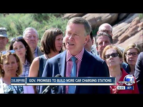 Colorado Governor John Hickenlooper announces new climate executive order