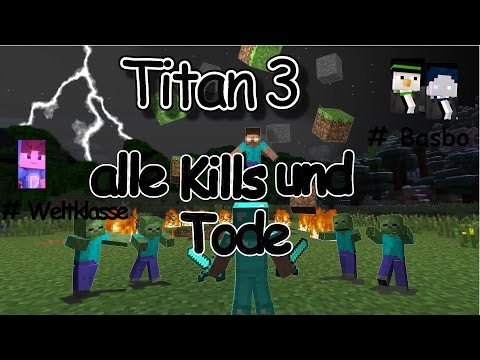 Minecraft Titan 3 Highlights - alle Kills und Tode - MPZ