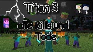 Minecraft Titan 3 Highlights - alle Kills und Tode - MPZ