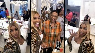 NeNe Leakes Host A Birthday Party For Her Husband On IG Live!