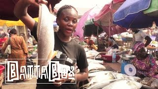 Nigeria's Biggest Fish and Octopus Market