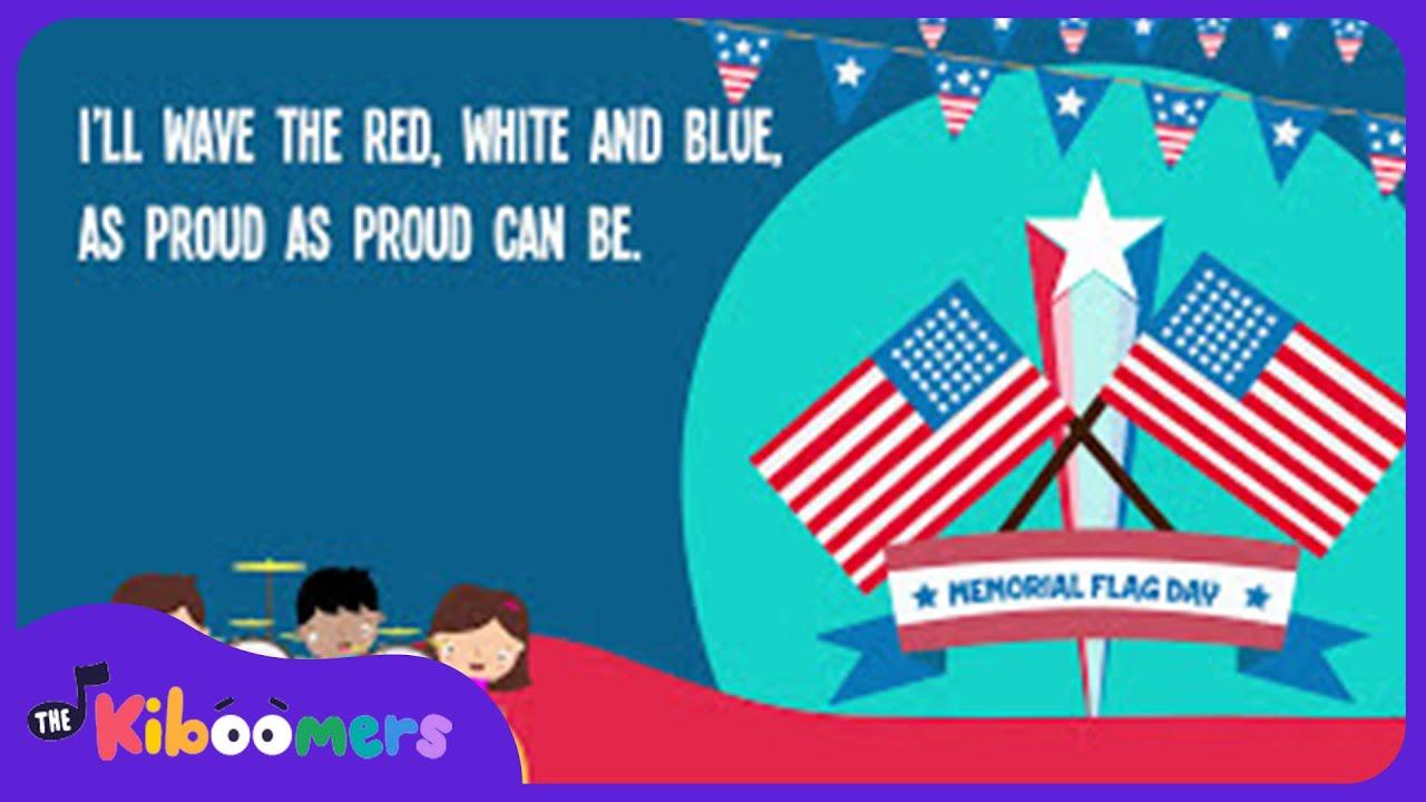 Memorial Day Flag Song for Kids | Flag Songs for Children ...