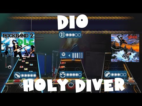 Dio - Holy Diver - Rock Band 2 DLC Expert Full Band (September 14th, 2010)
