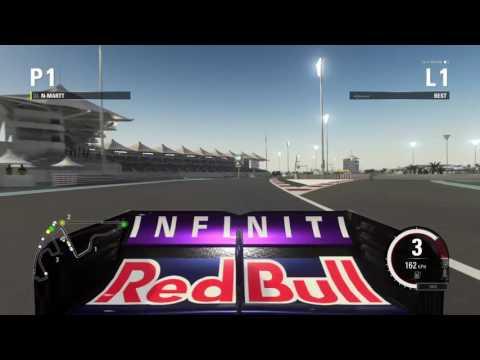 F1 2015 Online league racing (50%) - GP3 Abu Dhabi - Racestars.nl