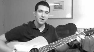 Taylor Swift Love Story Acoustic cover by Ryan Burns with HOW TO PLAY