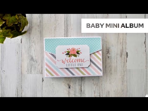 Baby Mini Album Landscape Style | Rock-a-Bye Baby - Carta Bella
