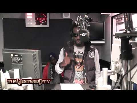 Sarkodie demonstrates the Azonto Dance  - Westwood