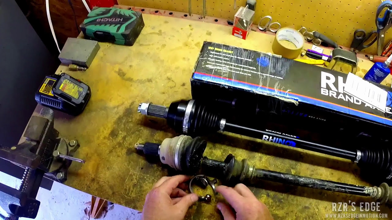 Product Review - Superatv Rhino Axles  Rzr'S Edge In Motion 07:47 HD