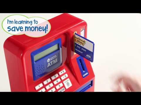 Pretend & Play Teaching ATM Bank