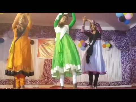 Mera maan hindi Christmas song dance by girls jakhakhol Baptist church brajrajnagar