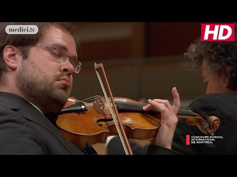 CMIM Final Round: Petteri Iivonen - Violin Concerto in D Minor - Sibelius