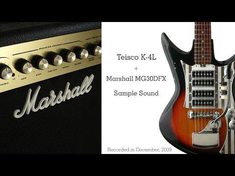 Marshall dsl 100h: presentazione e sound samples. Youtube.