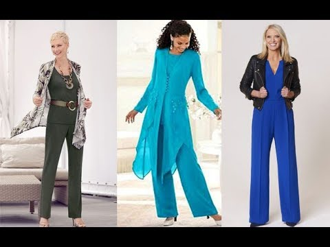 Enterizos Ropa Para Senoras De 40 A 60 Moda 2019 Youtube