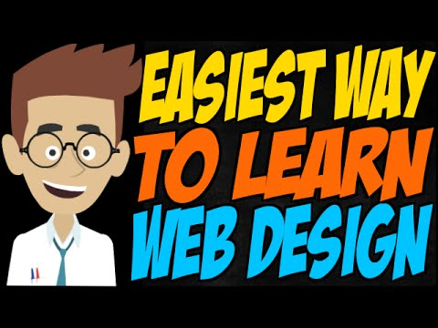 Easiest Way To Learn Web Design