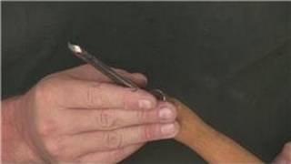 Woodworking Tools : How To Sharpen Wood Lathe Tools